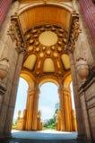 Le palais des beaux-arts intérieurs à San Francisco photo stock