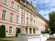 Le palais des Prince-électeurs au Trier, Allemagne Photo libre de droits