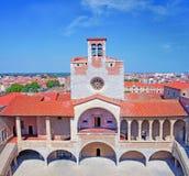 Le palais des rois de Majorca à Perpignan Images libres de droits