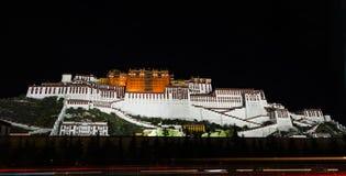 Le Palais du Potala à Lhasa, Thibet Photographie stock libre de droits