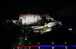Le Palais du Potala à Lhasa, Thibet Photos stock