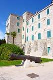 Le palais du recteur, Sibenik Photographie stock