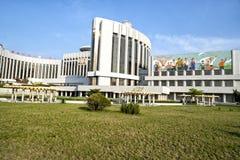 Le palais du ` s d'écoliers de Mangyongdae Pyong Yang, DPRK - Corée du Nord Photographie stock libre de droits