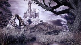 Le palais du sorcier Photo libre de droits