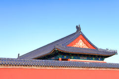 Le palais en parc du temple du Ciel Photographie stock
