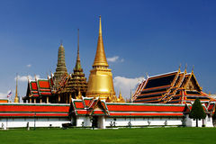 Le palais grand à Bangkok photographie stock