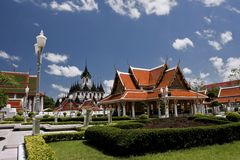 Le palais grand à Bangkok images stock