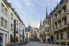 Le Palais historique grand-ducal Images stock