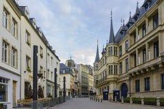 Le Palais historique grand-ducal Photos libres de droits