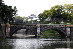 Le palais impérial au Japon image stock