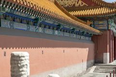 Le palais impérial, Pékin, Chine image stock
