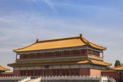 Le palais impérial, Pékin, Chine images libres de droits