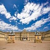 Le palais neuf, à Stuttgart, l'Allemagne Image libre de droits