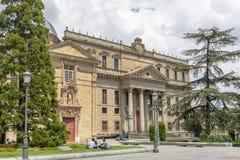 Le palais Palacio De Anaya de Salamanque Image stock