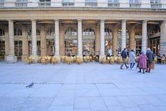 Le Palais Royal in the center of Paris. Paris, France - February 11, 2016: Le Palais Royal in the center of Paris, France stock photos