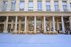 Le Palais Royal in the center of Paris. Paris, France - February 11, 2016: Le Palais Royal in the center of Paris, France royalty free stock photos