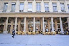 Le Palais Royal in the center of Paris. Paris, France - February 11, 2016: Le Palais Royal in the center of Paris, France royalty free stock photo
