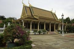 Le palais royal dans Phnom Penh, capitale du Cambodge images libres de droits