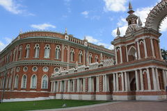 Le palais Tsaritsyno Photo libre de droits