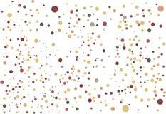 Le palle colorate - fondo e struttura illustrazione vettoriale