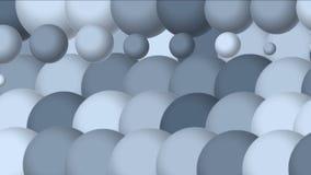 le palline da tennis della Tabella 4k egg il fondo di gocce delle goccioline, stampante il contesto di tessitura video d archivio