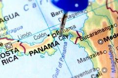 Le Panama Image libre de droits
