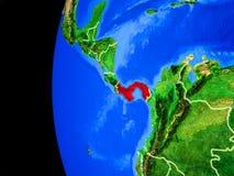 Le Panama de l'espace illustration de vecteur