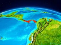 Le Panama de l'orbite Photo stock