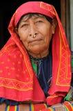 Le Panama, personnes traditionnelles de Kuna Image libre de droits