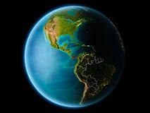 Le Panama le soir Photos libres de droits