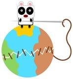 Le panda peut piquer Photographie stock libre de droits