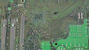 Le panneau électronique de contrôle de mouvement de plan rapproché du réseau de PC et de serveur de bureau est des pièces de maté banque de vidéos