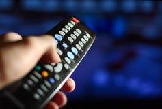 Le panneau lointain de la TV photos stock