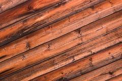 Le panneau orange de base rustique en bois a survécu à la base végétale de vieux stripesphone diagonal extérieur de fente photographie stock