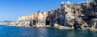 Le panorama de Boca font l'enfer, Cascais, Portugal Image libre de droits