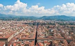 Le panorama de Florence, Italie Photos stock
