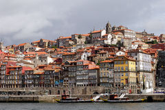 Ribeira font Porto Photo stock