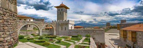 Le panorama du château, la Géorgie, peut 2017 Image stock