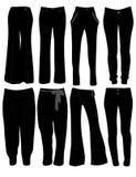 Le pantalon des femmes Photographie stock libre de droits