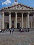 Le Panteon, Paris, Frankrike Arkivfoton