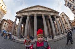 Le Panthéon à Rome Photos libres de droits