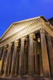 Le Panthéon à Rome Images libres de droits