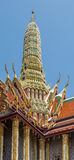 Le Panthéon royal au palais grand, Bangkok photos libres de droits