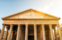 Le Panthéon à Rome, Italie Photo stock