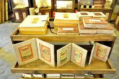 Papier antique de Dongba image stock