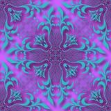 Le papier 3d floral a coupé le fond sans couture de modèle de style Pour l'invitation carde la décoration Illustration de vecteur Images libres de droits