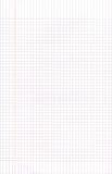 Le papier de graphique blanc ajuste le fond Photos libres de droits