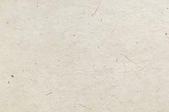 Le papier de riz de texture Image libre de droits