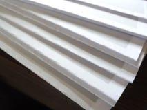 Le papier plié et préparent Photos libres de droits