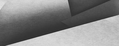 Le papier pose le fond géométrique abstrait d'angle image stock